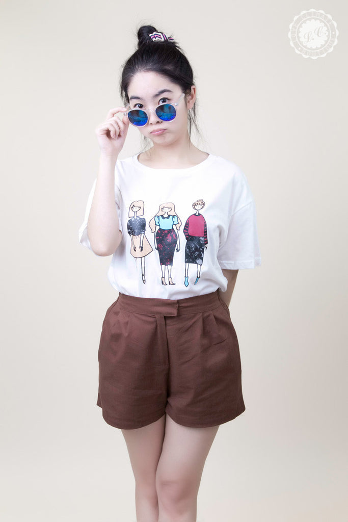Three Girl T-Shirt