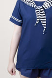 Little Sailor Navy Top