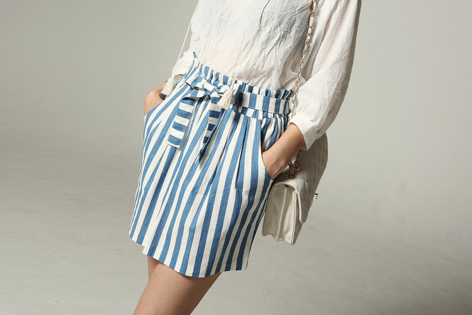 Stripe Banding Skirt
