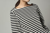 Basic Long Sleeve Stripe Tee
