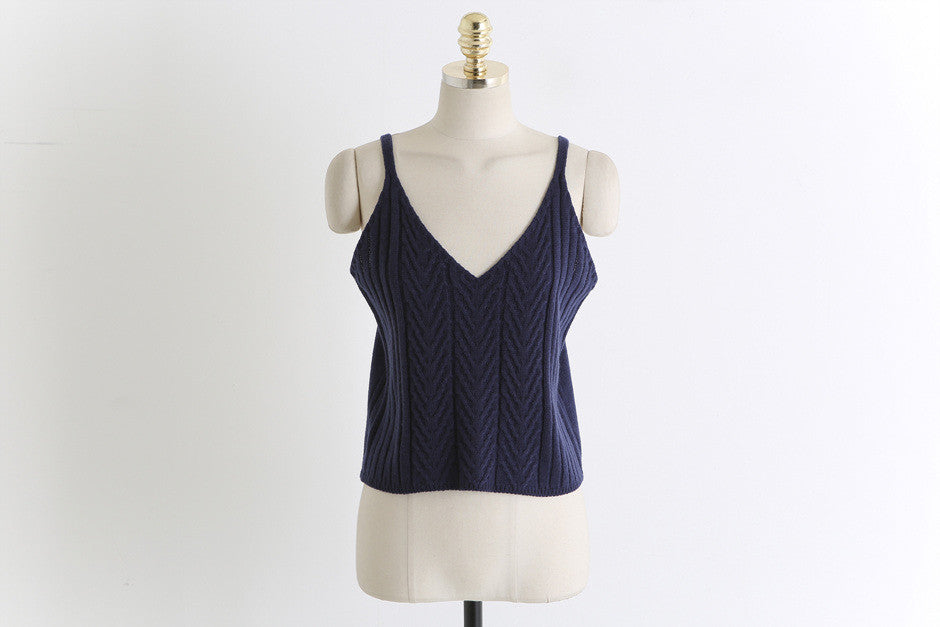 Basic Knit Tank Top