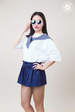 Banding Waist Cotton Shorts
