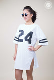 Side Split 24 T-shirt Dress
