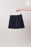 Basic Front Zip Skirt