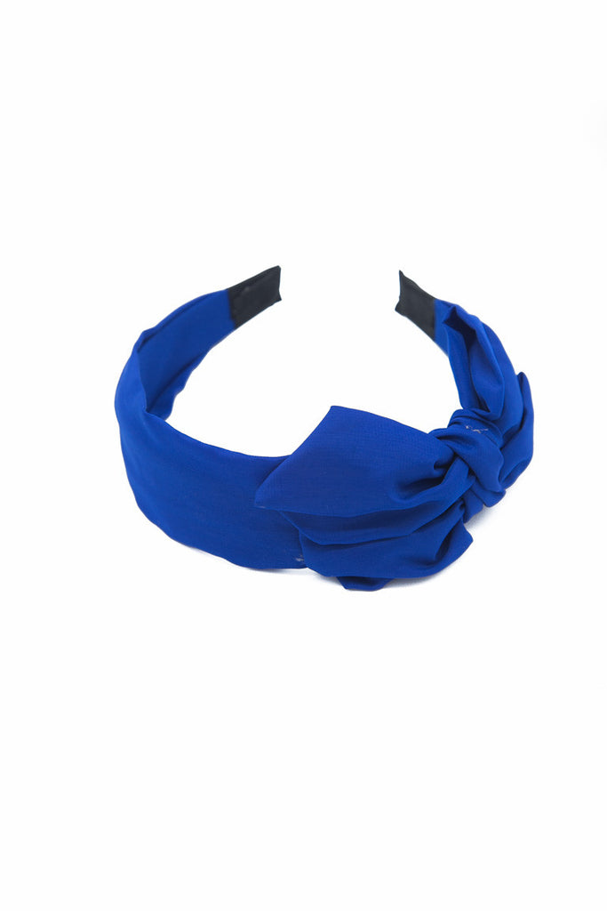 Wide Bow Hair Band