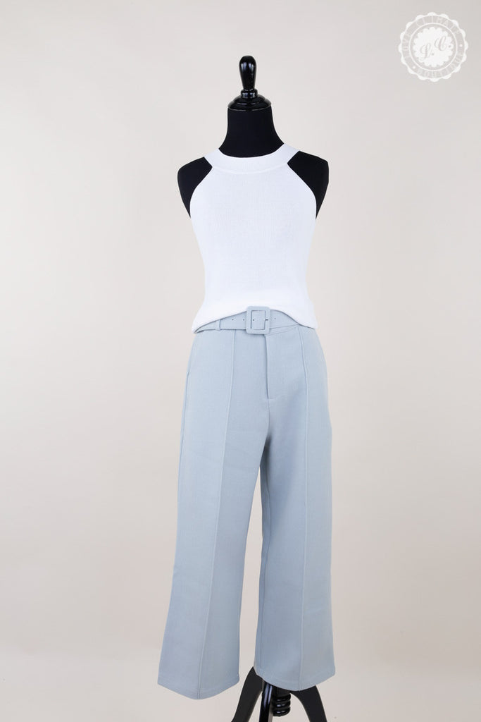 Mint Loose fit Belt Pants