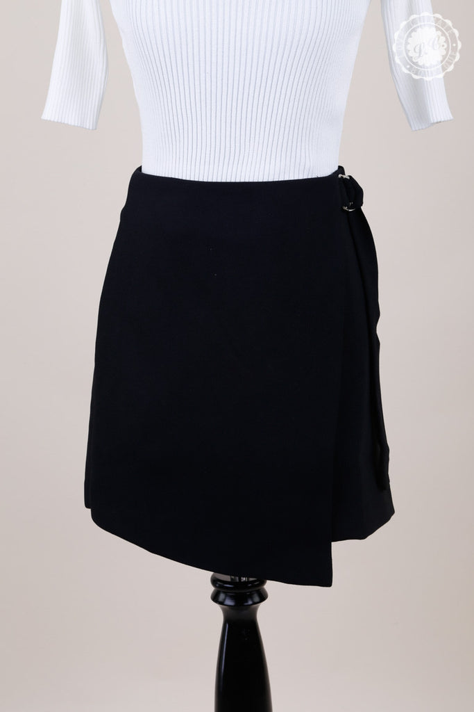 A-Line Wrapping Skirt