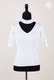 Basic Slim Fit Neck Ring Knit Top