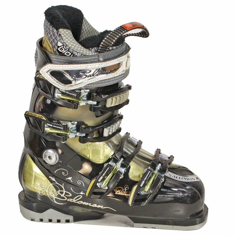 Used Salomon Divine RS 8 Womens Ski Boots
