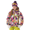 New 686 Paul Frank Julius Collage Junior Girls Jacket