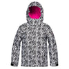 New Roxy American Pie Print Jacket Junior Girls Jacket