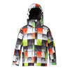 New Quiksilver Mission Print 10K Jacket Junior Jacket