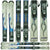 Used Rossignol Roc X Blue Skis C
