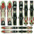 Used K2 Comanche Mammoth Mountain Junior Skis D
