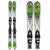 Used K2 Mammoth Mtn/Mountain Junior Skis B