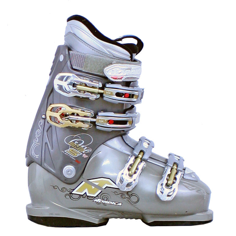 Used Ski Boots >> Used Nordica One S Women Womens Ski Boots