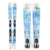 Used Salomon Q-83 Myriad Womens Skis B