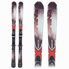 Salomon Xwing Men's Red and Black Skis (with free ski poles!)
