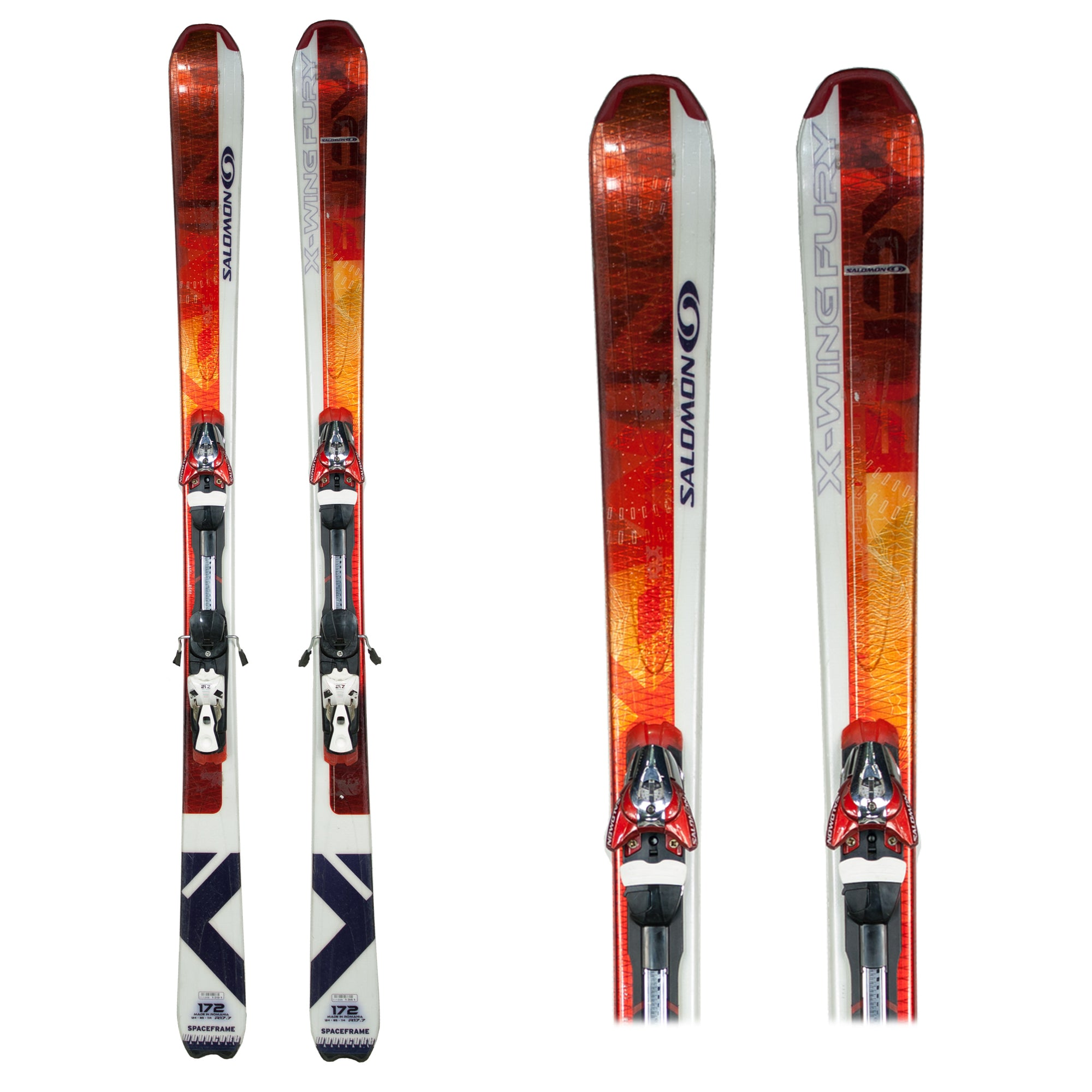 d212b83820a0 Used Salomon X Wing Fury Skis B - Galactic Snow Sports