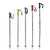 Used Scott Rental Ski Poles