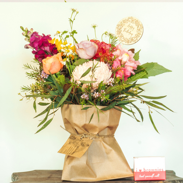 That Little Happy Birthday Flower Bag $89.95 - That Little Flower Shop