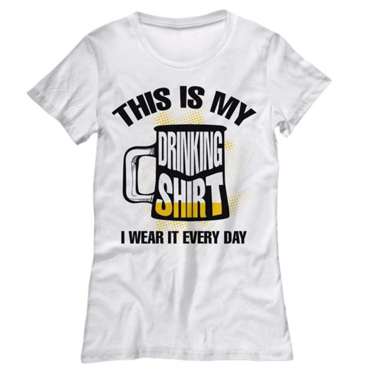 5f81e659 This Is My Drinking Shirt Women's T-Shirt Design – Daily Offers And ...