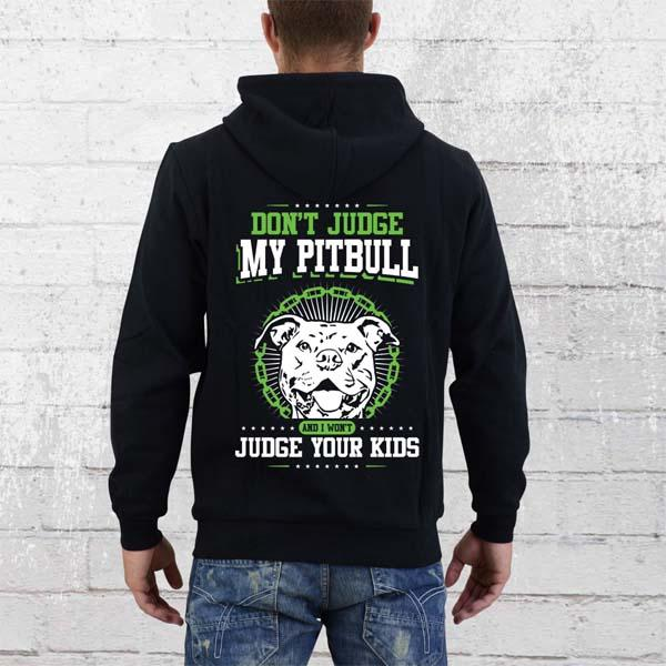 colorful dont judge pitbull hoodie design shirt - Hoodie Design Ideas