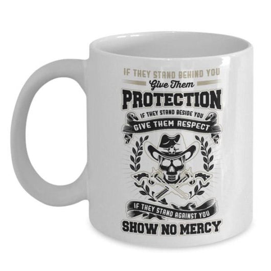 No Mercy Personalized Patriotic Gift Mug, Coffee Mug - Daily Offers And Steals