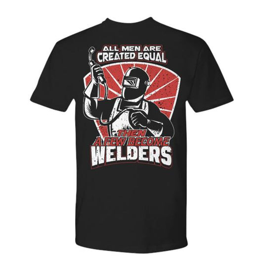 Few Become Welder Shirt Design Daily Offers And Steals