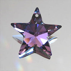 Swarovski Crystal Vitrail Light Star Prism, 20mm, Retired with logo