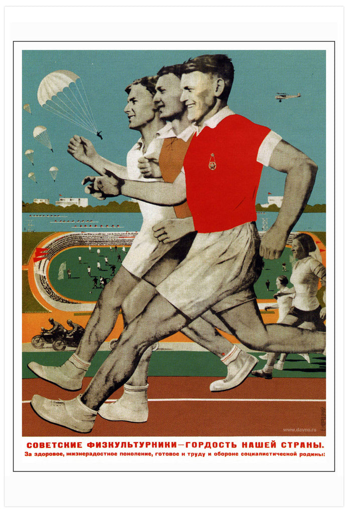 Soviet athletes are the pride of our country [1935]