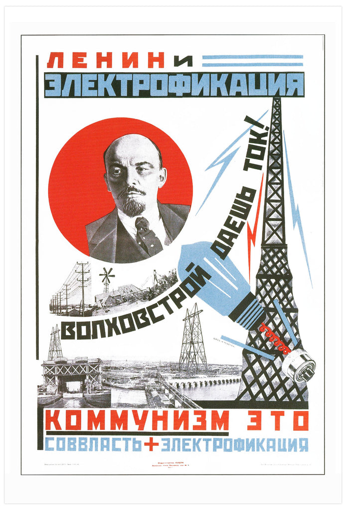 Lenin and Electrification [1925]