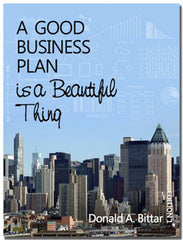 A Good Business Plan is a Beautiful Thing