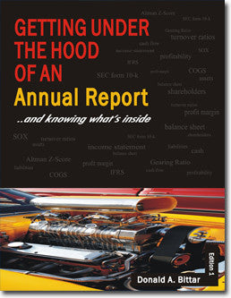 - Getting Under the Hood of an Annual Report - Purchase for Individual Use (NOT FOR A COURSE)