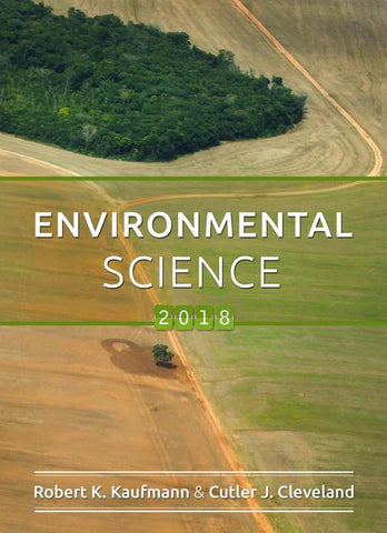 Boston University - Intro Environmental Science - GE100 - Kaufmann - Fall 2018