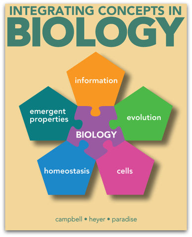 Murray State University - Concepts in Biology - BIO 102 - Good - Fall 2018 - Chapters 1-15 Only