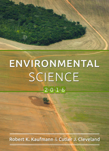 SUNY ESF - The Global Environment - EFB 120 - Beal - Summer 2017