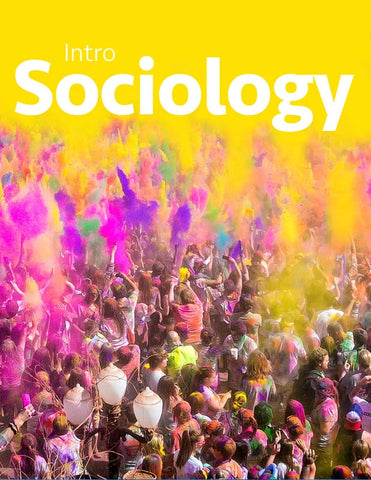 - Sociology - Purchase for Individual Use (NOT FOR A COURSE)