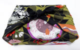 Yu-Soku -  Shippo to Shiki (Treasure of Seven w/ Four Seasons)  - Furoshiki (Japanese Wrapping Cloth)