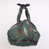 Maruwa - Butterfly on Classic cloth Navy - Furoshiki 105 x 105 cm