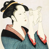 Kitagawa Utamaro - Bijin-ga (Beautiful woman in Edo era) - Ukiyoe Origami