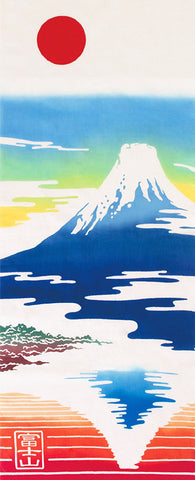 Kenema  - Waraku Fujisan (Mt. Fuji)  (The dyed Tenugui)