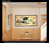 Tominaga Jyuho - Japanese Traditional Hand Paint Byobu (Gold Leaf Folding Screen) - X109 - Free Shipping