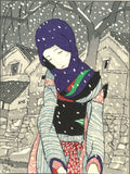 Takehisa Yumeji- Yuki no Yo no Densetsu  (Legend of the night of snow) - Free Shipping