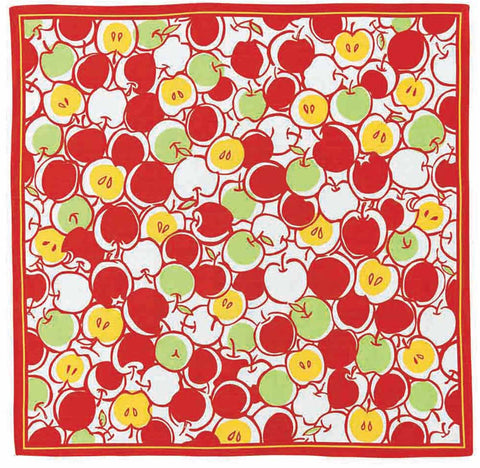 Kenema - Kanmitsu Ringo (Apple) Furoshiki (Japanese Wrapping Cloth)