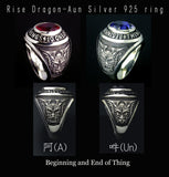 Saito & HORIGYN Collaboration - Rise Dragon A-un Silver 925 Ring - Free Shipping