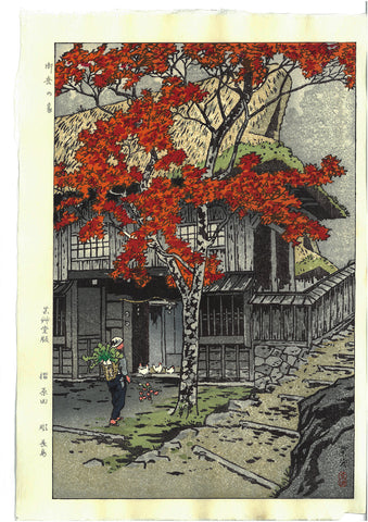 Kasamatsu Shiro - SK10 Mitake no ie (The house at Mitake) - Free Shipping