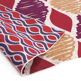 AtarashikiInishie -  Double-Sided Dyeing - Tatewaku Red - Furoshiki (Japanese Wrapping Cloth)