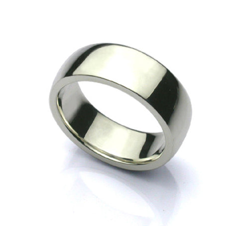 "Saito - Message Ring  (With your own message)  8 mm (0.315"") width (Silver 925 )    Free shipping"