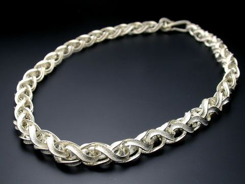 Saito - Infinity Choker (Silver 950) Only one left - Free Shipping